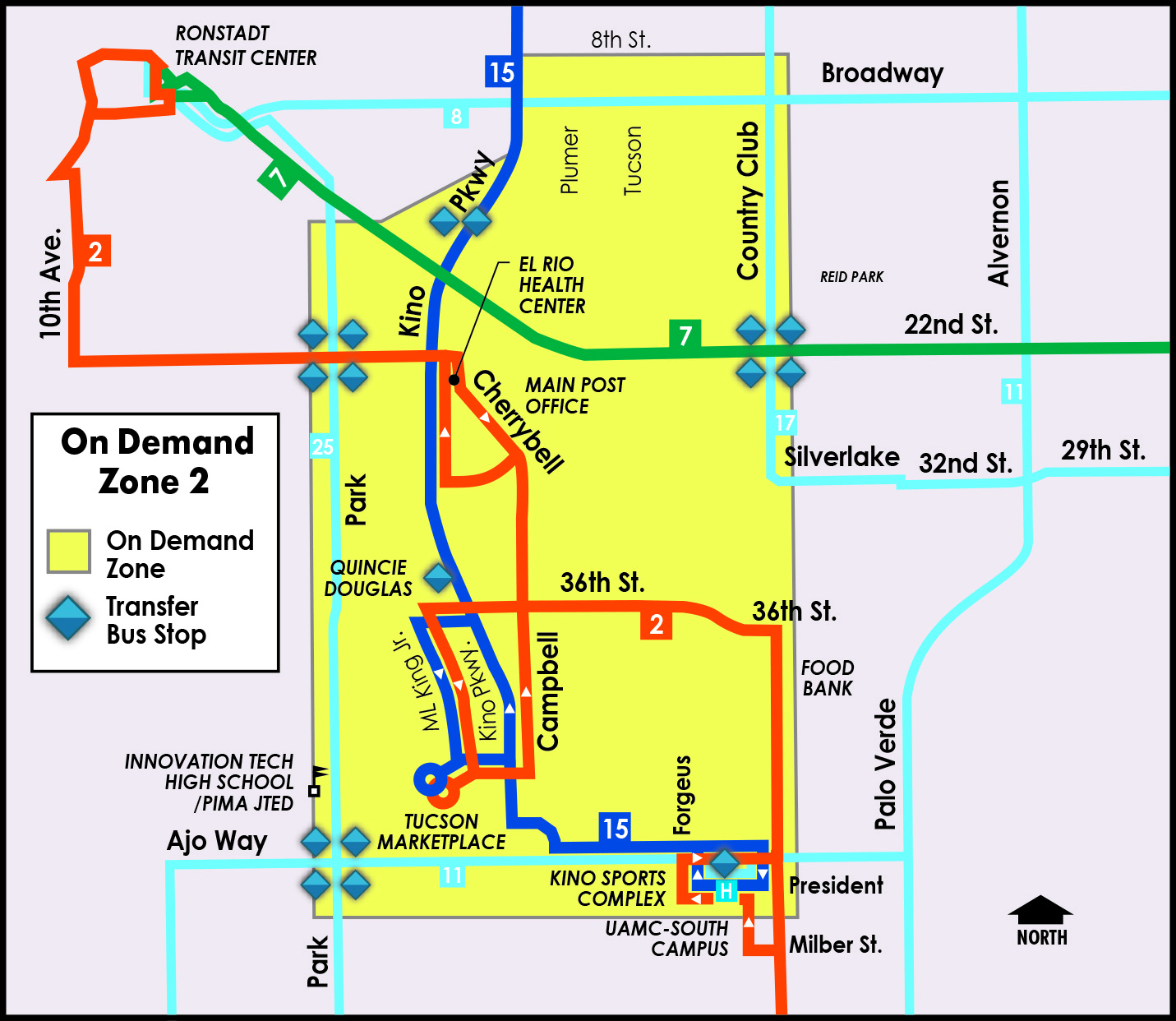 map of zone 2