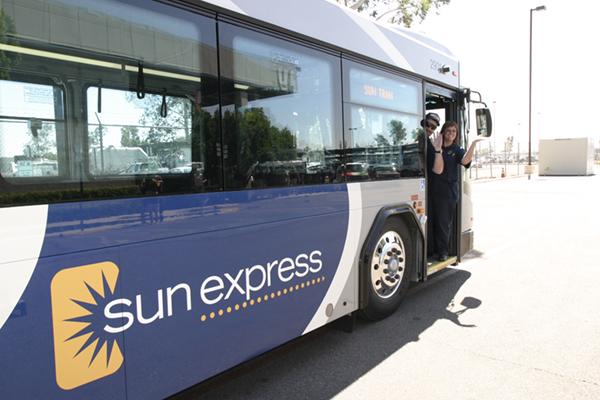 sun express bus