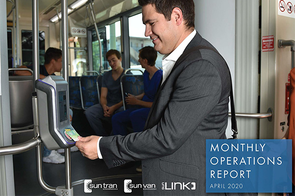 report cover rider in suit scanning sungo card