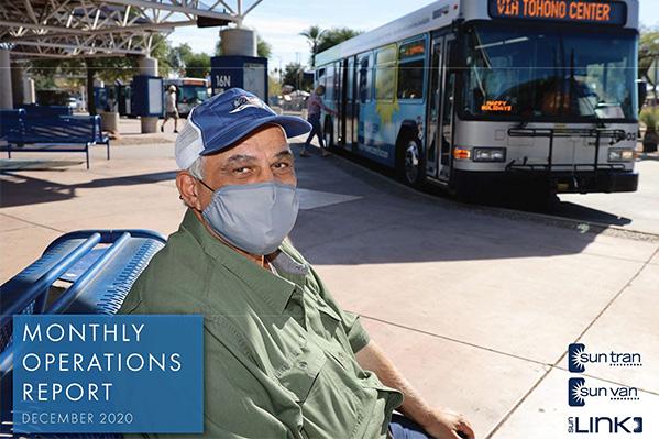 report cover masked senior passenger on bus bench
