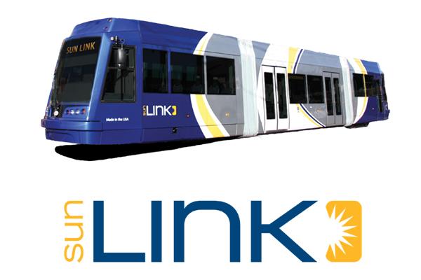 sun link vehicle and logo